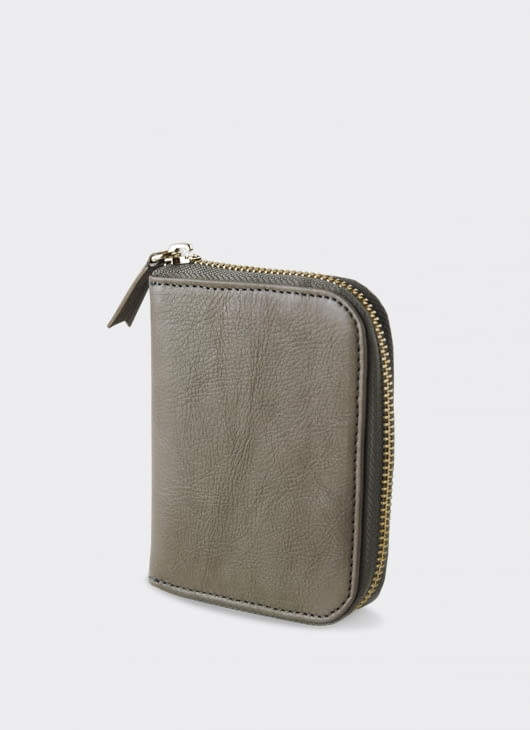 Bluesville Gray Compact Wallet