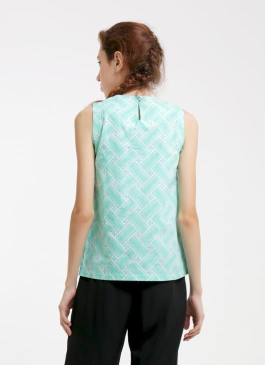 Rianty Batik Tosca Sandy Batik Blouse