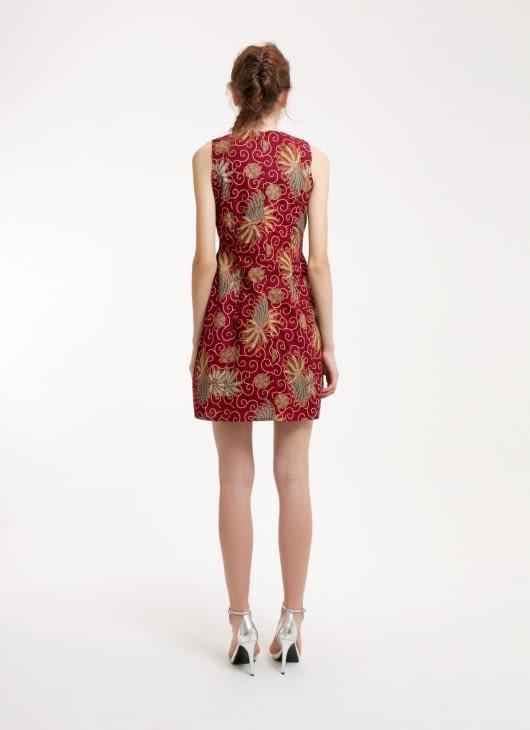 Rianty Batik Red Paula Batik Dress