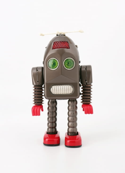 The Tin Industry Black Thunder Robot