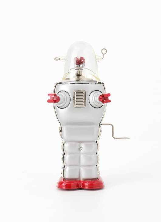 The Tin Industry Silver Trooper Robot