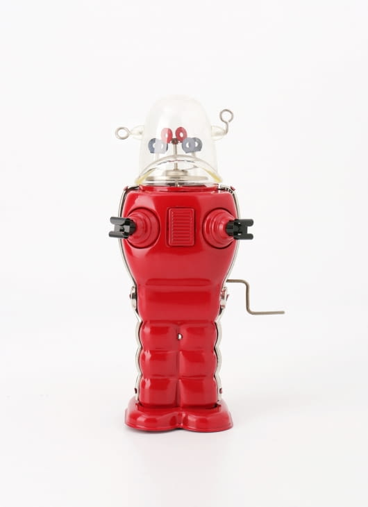 The Tin Industry Red Trooper Robot