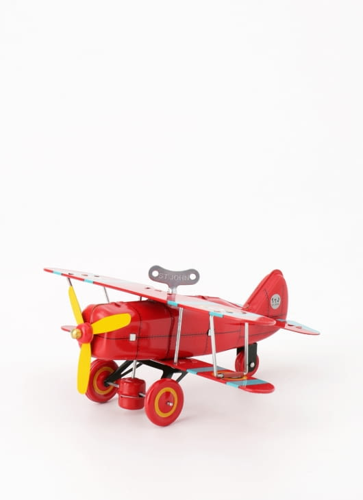 The Tin Industry Biplane Fighter Aeroplane