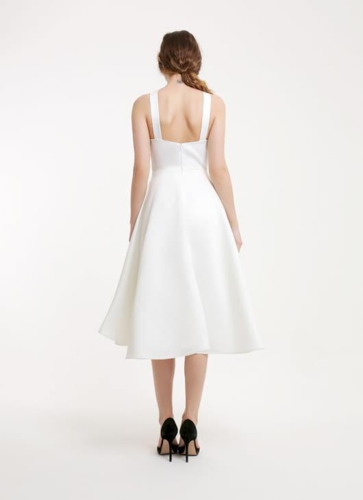 Peggy Hartanto White Leprechaun Dress