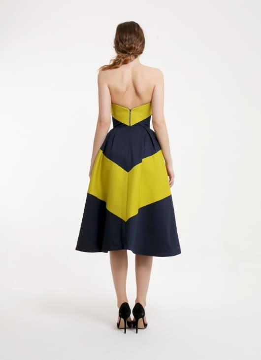 Peggy Hartanto Multicolor Nymph Dress