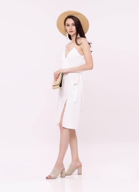Wearstatuquo White Let Loose Dress