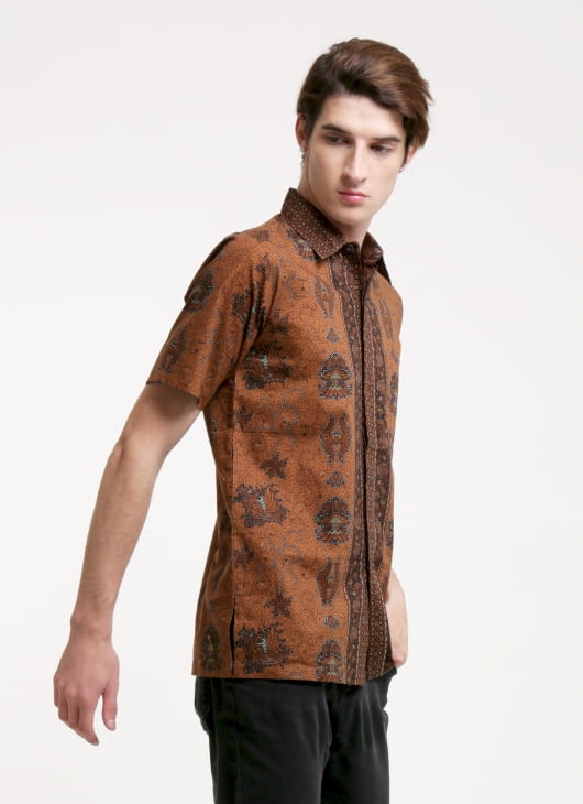Rianty Batik Green Nicolas Batik Shirt