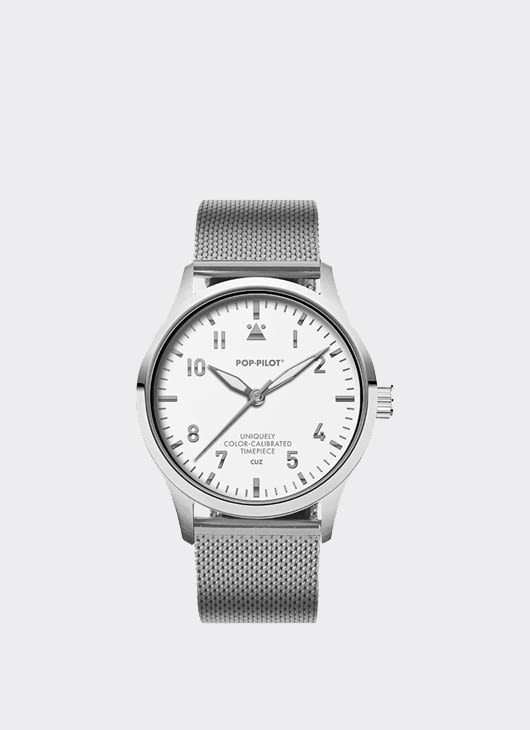 Pop Pilot Silver Metals Pop-Pilot Watch