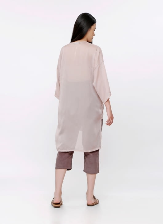 Les Riches Dusty Pink Mora Outer