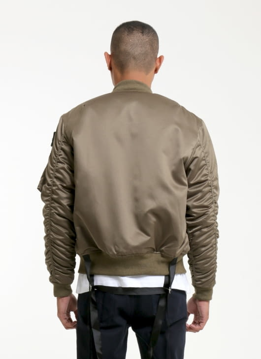 W.Essentiels Gold Charaix Bomber Jacket