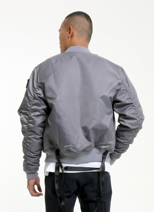 W.Essentiels Asphalt Charaix Bomber Jacket