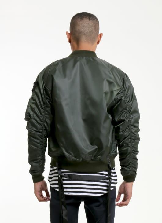 W.Essentiels Olive Charaix Bomber Jacket