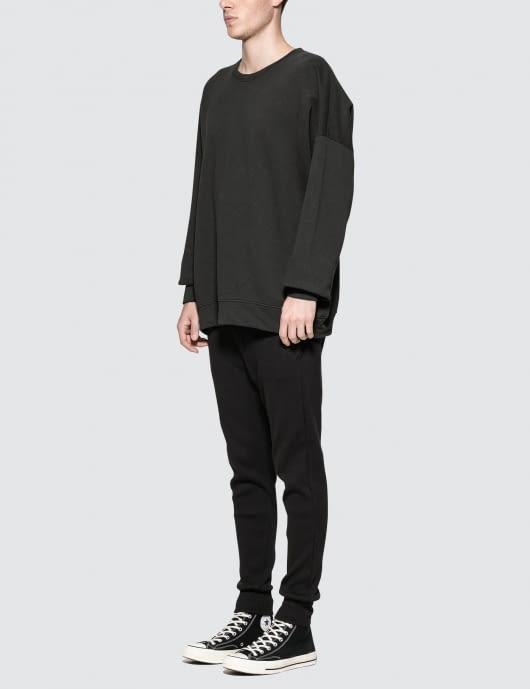 thom/krom Oversized Basic Sweater