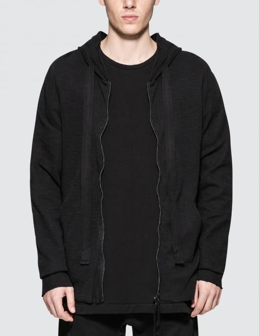 thom/krom Hooded T-Shirt Jacket