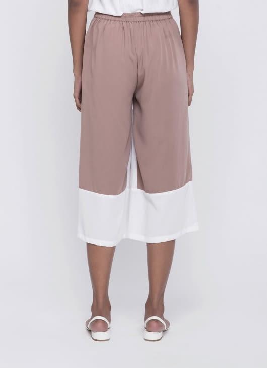 Mono Earth Mocca 2 Tone Pants