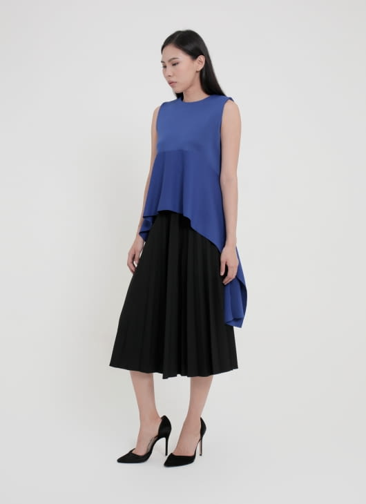 CORE ATTIRE Electric Blue Dylan Top