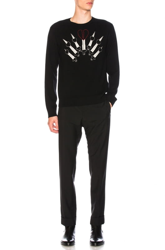 Valentino Zip Pocket Trousers