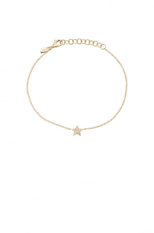 EF COLLECTION Diamond Star Bracelet