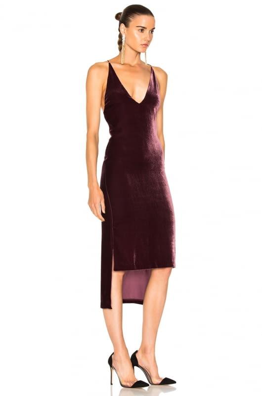 Dion Lee Velvet Fine Line Cami Dress