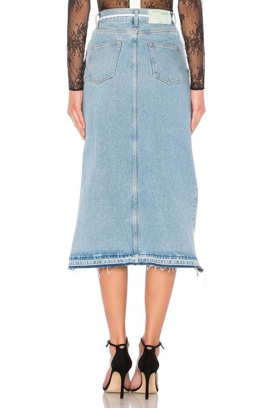 OFF-WHITE Levi's Denim Skirt