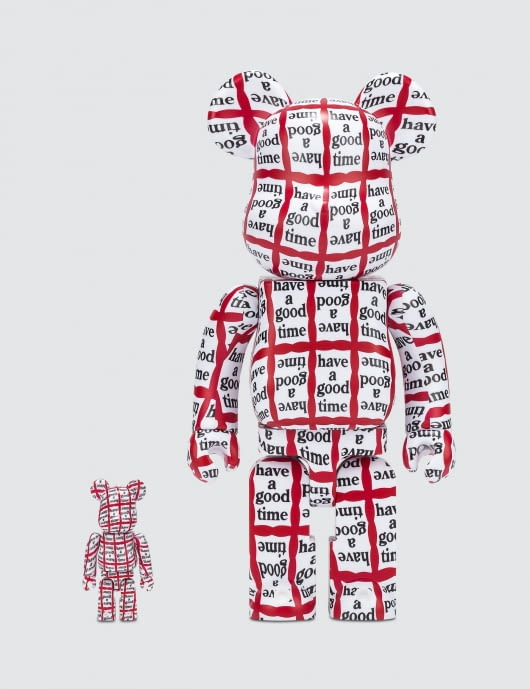 have a good time 400% + 100%   Be@rbrick Set