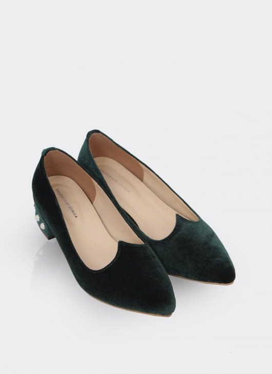 Valencia Emerald Green Blaire Shoes