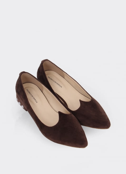 Valencia Dark Brown Blaire Shoes