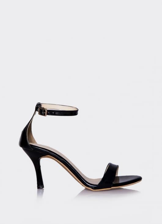 Valencia Black Minimalis Simple Heels