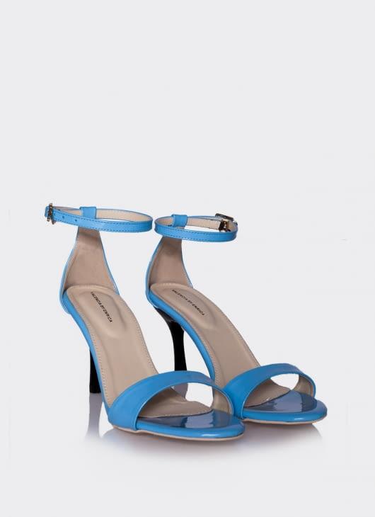 Valencia Blue Minimalis Simple Heels