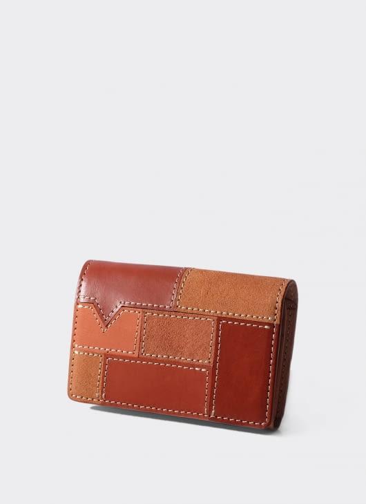 VOYEJ LEATHER GOODS Brown Vasa Vestigial Wallet