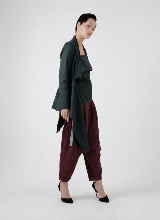 Amanda Rahardjo Dark Green Gallant Blazer