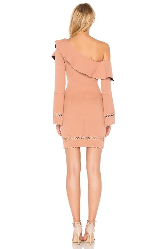 NICHOLAS Bandage One Shoulder Dress