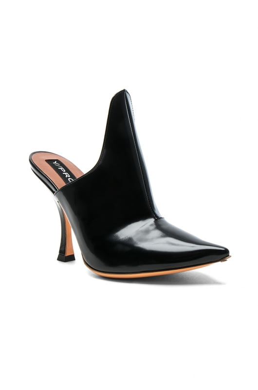 Y Project Leather Stefania Mules