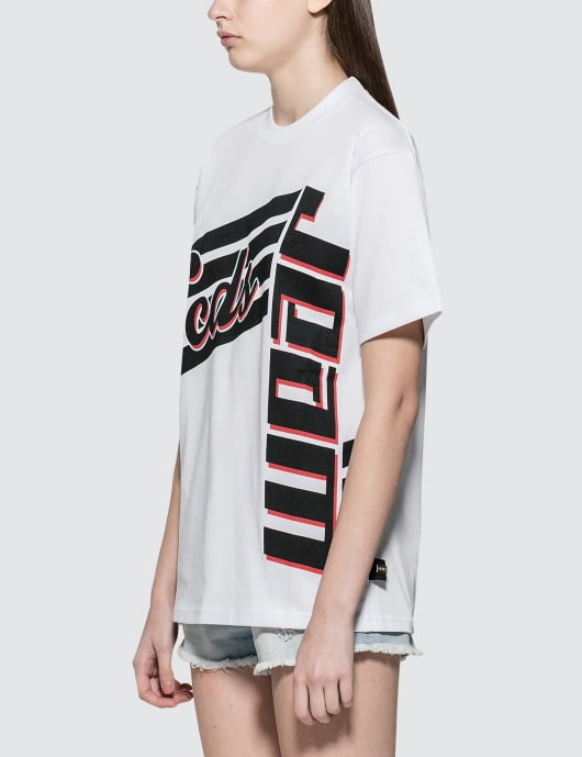 GCDS Stripes S/S T-Shirt