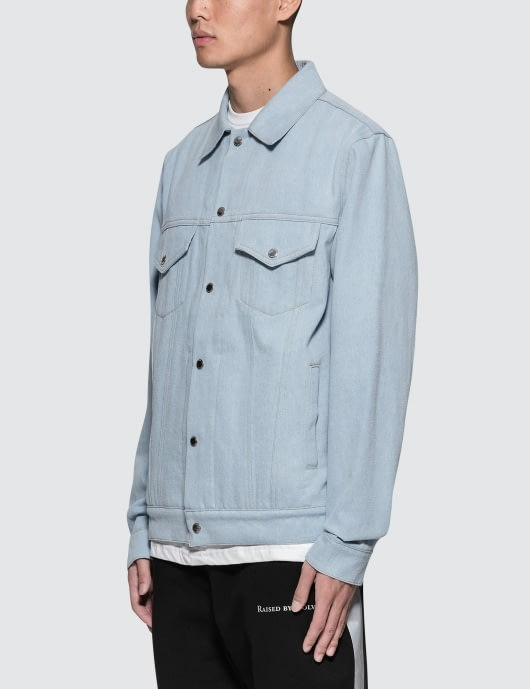 Raised by Wolves Palm Trucker Jacket