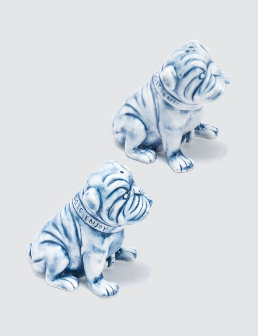 Yeenjoy Studio English Bulldog Salt and Pepper Shaker Set