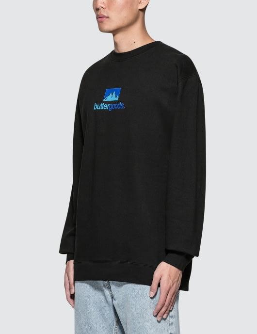 Butter Goods Search Crewneck Sweatshirt