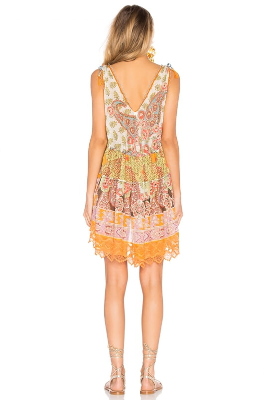 CHIO Patterned Mini Dress