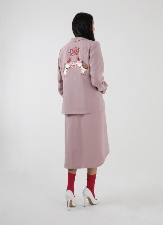 DIBBA Pink Elephant Blazer