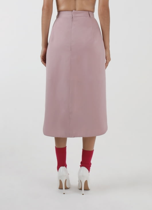 DIBBA Dusty Pink Lotus Skirt