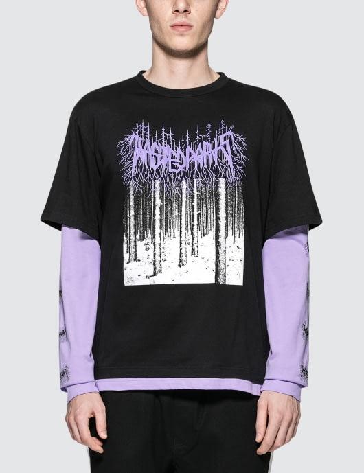 Wasted Paris Black Metal L/S T-Shirt