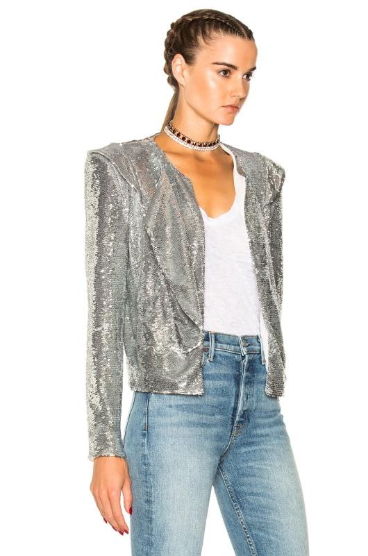 IRO Waklyn Sequin Jacket