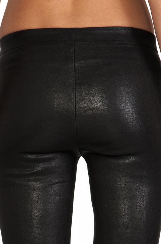 J Brand Lamb Leather Pull Up Legging