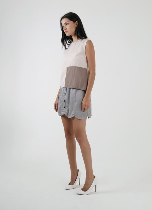 KOMMA Silver Ep01.005 Skirt