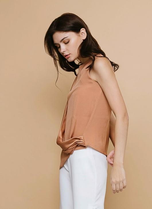 CLOTH INC Sunset Hazel Sash Top
