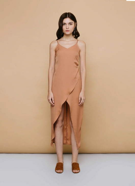 CLOTH INC Sunset Maple Dress