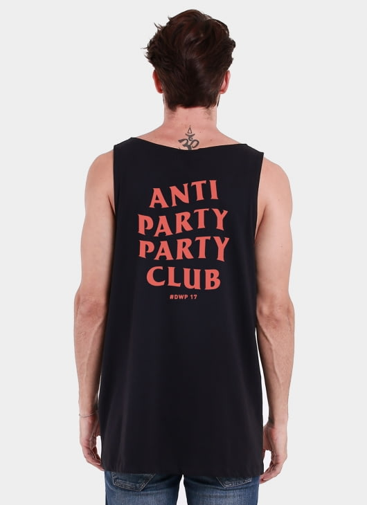 Monstore X DWP 2017 Black DWP Anti Party Red Sleeveless Top