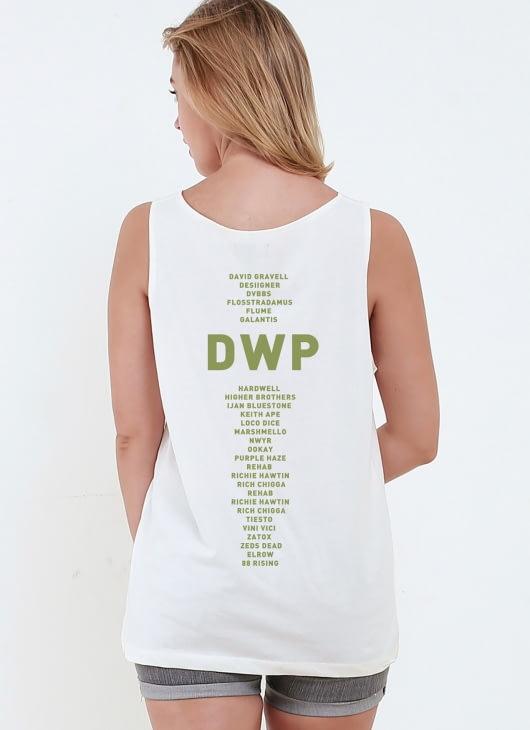 Monstore X DWP 2017 Off White DWP XVII Sleeveless Top