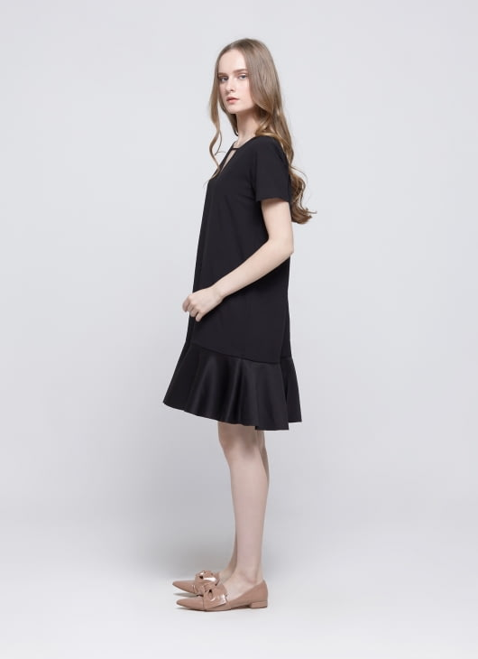 Story of Rivhone Black Valea Dress
