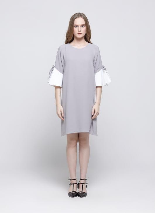 Story of Rivhone Gray Rainy Dress